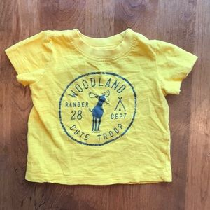 9 month old, short sleeve graphic tee